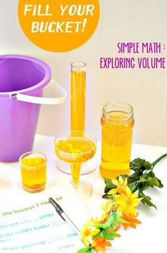Fill Your Bucket: Simple Math - Exploring Volume