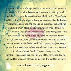 Love and sayings