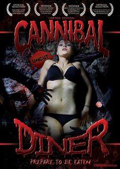 Official DVD Artwork for Cannibal Diner