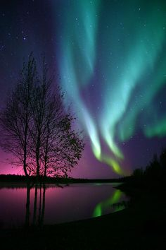 ✯ Beautiful Aurora Display - The whole reason behind my baby's name. NOT like the princess from Sleeping Beauty.