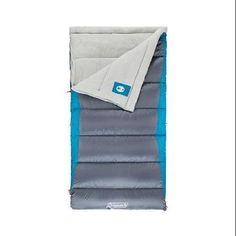 Coleman Aspen Meadows 30-Degree Big and Tall Sleeping Bag - Walmart.com $50
