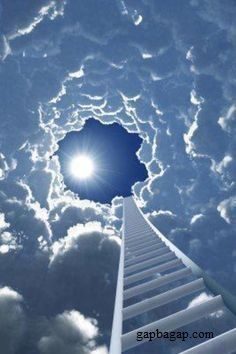 Beautiful Picture Of Stairway To Heaven