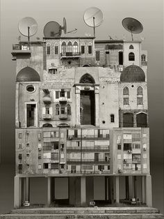 Surreal Architectural Collages by Anastasia Savinova