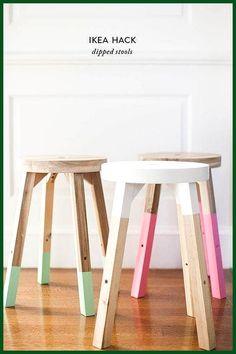 Mesa baja hack de frosta taburete IKEA Paso 3: cortar