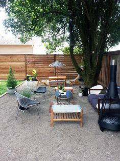 Like the horizontal fence boards. Before & After: The Little NoPo Farmhouse Yard | Design*Sponge