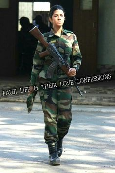 Indian Army Quotes, Military Quotes, Military Love, Indian Army Special Forces, Indian Army Wallpapers, Pakistan Armed Forces, Military Videos, Female Cop, Army Girlfriend
