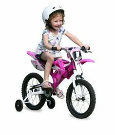 """16"""" Moto Yamaha Litho Girls' Bike, Pink by 0680674005800. $169.99. Your little one will have great outdoor adventures on this Moto Yamaha Litho Bike. It features an oversized steel frame with authentic Yamaha graphics, motocross style fenders and a motocross saddle.  16"""" Moto Yamaha Litho Girls' Bike, Pink includes Motocross-style fenders;    Authentic Yamaha graphics; oversized steel frame; single speed; front brake; 16 inch wheels; training wheels for added stability; knobby ti..."""