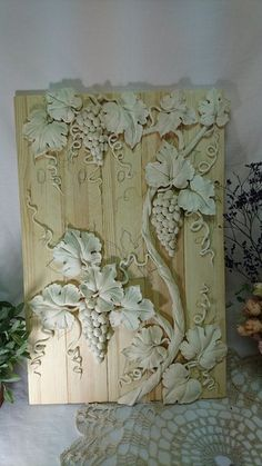 Discover thousands of images about robin taylor Clay Wall Art, Mural Wall Art, Mural Painting, Plaster Crafts, Plaster Art, Plaster Walls, Clay Art Projects, Clay Crafts, Decorative Plaster