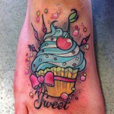 #Ink #SmallCake Cupcake  tattoo