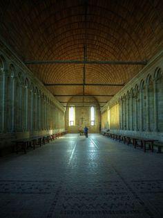Mont Saint Michel : Réfectoire