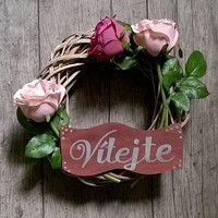 Zboží prodejce Darinadekor / Zboží   Fler.cz Grapevine Wreath, Grape Vines, Wreaths, Home Decor, Decoration Home, Door Wreaths, Room Decor, Vineyard Vines, Deco Mesh Wreaths