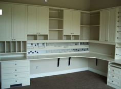 Craft Room Design Ideas - California Closets DFW