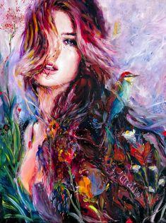 Beautiful Paintings by Charmaine Olivia