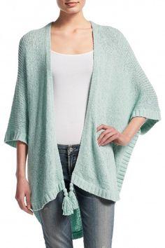 Adustia Cotton Blend Cocoon Sweater  | Calypso St. Barth