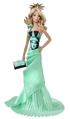 Barbie Doll Collectible Value | ... for the newest collectible barbie statue of liberty barbie she