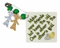 This kit features silver and gold charms to represents making new friends but keeping the old. Swap kit makes 30 of the cutest swap pins you will ever trade. Everyone will love them! Check out all of our SWAP kits on Makingfriends.com