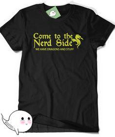 a4d5fd6ea Funny Nerd T-Shirt Dragon Shirt Humor Womens Mens Gift Ideas for Boyfriend  Girlfriend Present