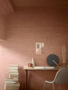 2016 Colour trends for interiors _ a calendar on ITALIANBARK - terracotta paint