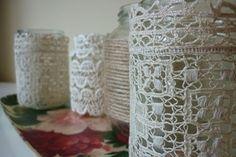 Vintage-Vasen und Gläser für Hochzeit mieten   weddstyle
