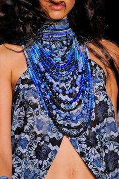 Anna Sui SS 2014 #dealply #fashion