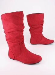 Need a new pair of red boots. Mine are dying