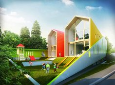 Architizer - KITA Kindergarten