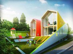 Architizer - KITA Kindergarten