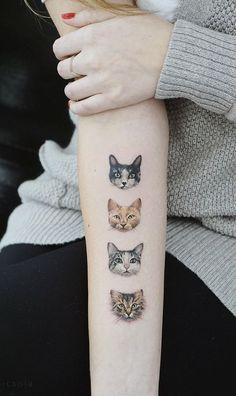 Black Cat Tattoos, Mini Tattoos, Animal Tattoos, Cute Tattoos, Beautiful Tattoos, Body Art Tattoos, Small Tattoos, Sleeve Tattoos, Gizmo Tattoo
