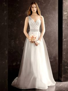 Vera Wang Wedding Dresses 2013   ... dresses. Whether you choose strapless or one shoulder corset dress you