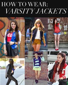 How to wear varsity jackets