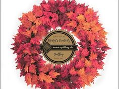 Quilling Autumn Wreath (Part (Tutorial) Quilling Tutorial, Autumn Wreaths, Videos, Youtube, Card Making, Paper Crafts, Fall Wreaths, Tissue Paper Crafts, Paper Craft Work
