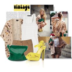 More Vintage :), created by brightlightsbiggercity on Polyvore