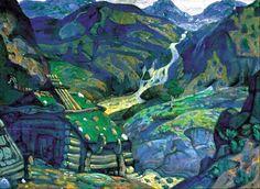 by Nicholas Roerich http://img.wikinut.com/img/3gr_owke5dm1pfyt/jpeg/0/By-Nicholas-Roerich.jpeg