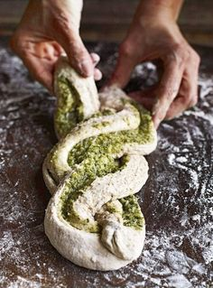 From the Liguria region of Italy, this classic starter moves beyond a simple garlic bread recipe to showcase sage. From the Liguria region of Italy, this classic starter moves beyond a simple garlic bread recipe to showcase sage. Bread Machine Recipes, Easy Bread Recipes, Cooking Recipes, Cooking Tips, Sage Recipes, Garlic Recipes, Lemon Balm Recipes, Starter Recipes, Cheese Recipes