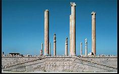 Audience Hall (apadana) of Darius and Xerxes. Persepolis, Iran. Persian. c. 520–465 B.C.E. Limestone.