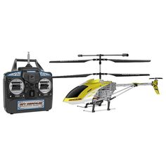 World Tech Toys Spy Hercules Unbreakable Remote Control Camera Helicopter, Yellow