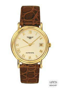 T71_3_430_23- CARSON FULL CASE BACK AUTOMATIC #Tissot #TGold