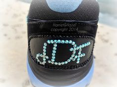 Swarovski monogram for your shoes by HarrietHazelDesigns on Etsy, $24.00