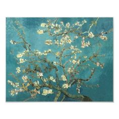 Blossoming Almond Tree - Van Gogh Art Photo, now I want to see a huge VanGogh exhibit, am loving lots of his work.