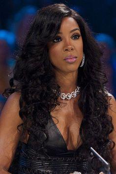 Kelly Rowland, singer, actress
