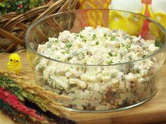 Sałatka wielkanocna z brokułem - Przepisy kulinarne - Sałatki Tortellini, Risotto, Potato Salad, Grains, Rice, Potatoes, Ethnic Recipes, Food, Pineapple