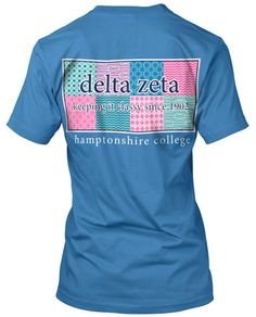 Preppy pattern shirt. Great for Recruitment or Bid Day.