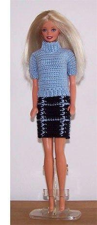 New Fashion Clothes Pattern Barbie Dolls Ideas Barbie Patterns, Doll Clothes Patterns, Clothing Patterns, Accessoires Barbie, Trendy Fashion, Fashion Outfits, Fashion Clothes, Crochet Barbie Clothes, Barbie Dress