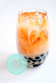 SWEET DRINKS // MILK TEA BOBA