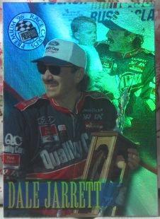 Dale Jarrett Press Pass Premium 1996 Card No. 13  Nascar  http://www.webstore.com/store,pgr,Motor-Racing,category,1551,parent_id,181753,user_id,shop