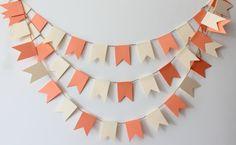 New Twine Wedding Garland,Wedding Bunting,Wedding Banner,paper chain,baby shower banner,papergarland,paper garland,paper bunting,flag banner on Etsy, $15.70