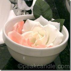 Single-Use Flower Petal Soaps
