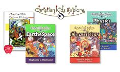 Featured Homeschool Curriculum Review and Sale : Christian Kids Explore Science