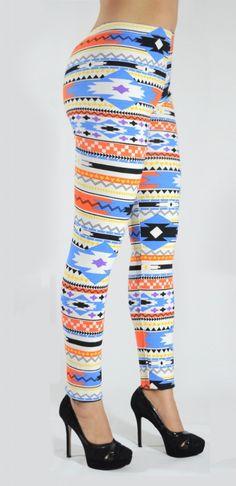 Mallones leggins de algodón con diseños tribales Mod.03