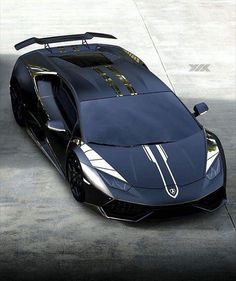 The Lamborghini Huracan white Pinstriped